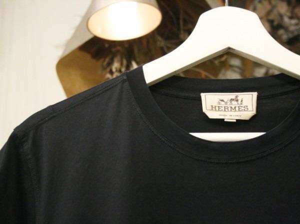 ちゃんとしたショップカード、作ります!! 入荷HERMES/エルメス リネンシャツ、ポケットTシャツ、Tシャツ_f0180307_01291034.jpg