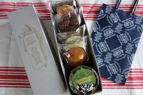 嬉しいいただき物!ACHOさんの焼き菓子達。_e0230011_16421484.jpg