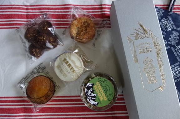 嬉しいいただき物!ACHOさんの焼き菓子達。_e0230011_16431269.jpg