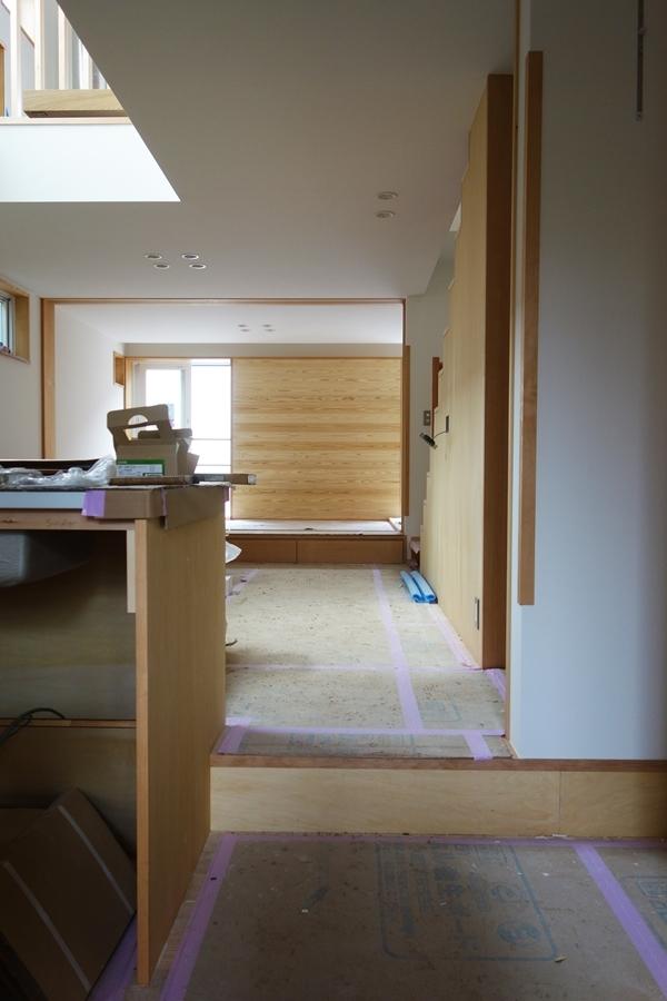 「荒川の家Ⅲ」照明器具付け_b0142417_16390745.jpg