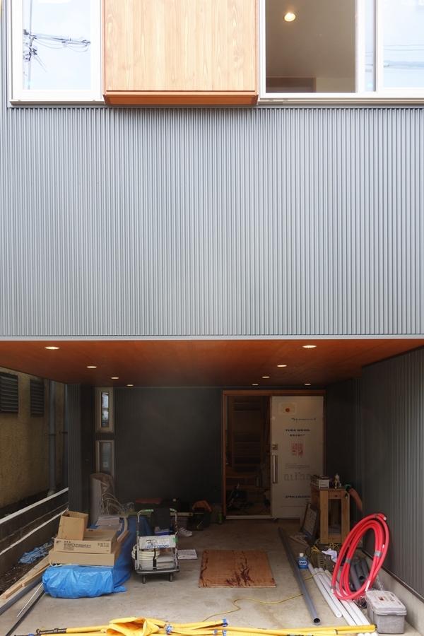 「荒川の家Ⅲ」照明器具付け_b0142417_16395102.jpg