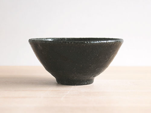長谷川奈津さんの黒いうつわ。_a0026127_15185999.jpg