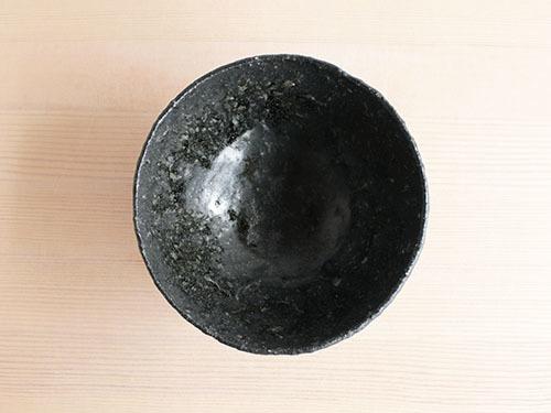 長谷川奈津さんの黒いうつわ。_a0026127_15201464.jpg
