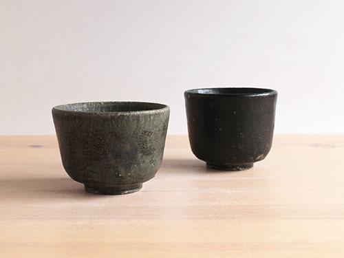 長谷川奈津さんの黒いうつわ。_a0026127_15323614.jpg