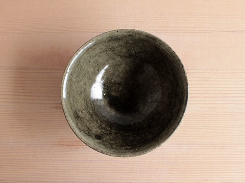 長谷川奈津さんの黒いうつわ。_a0026127_15324123.jpg