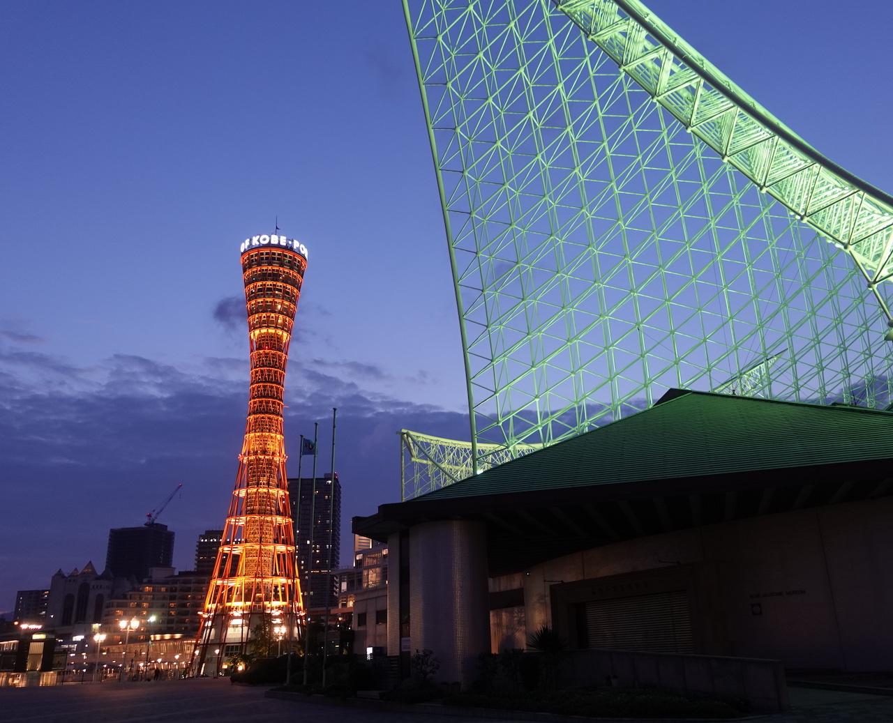 JANOG44@神戸出張 2日目。天孫降臨でラーメン食べて神戸ポートタワーに登る!_b0024832_23160424.jpg