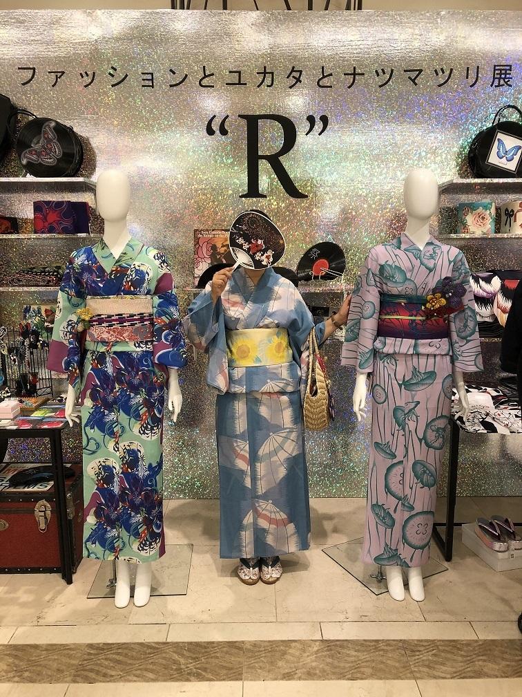 阪急うめだ\ファッションとユカタとナツマツリ展 R/終了致しました♪_e0167832_13561372.jpg