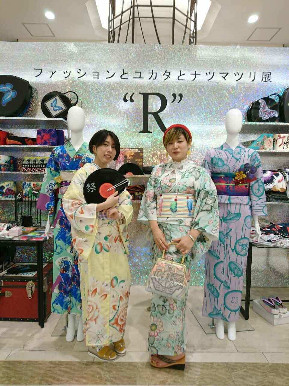 阪急うめだ\ファッションとユカタとナツマツリ展 R/終了致しました♪_e0167832_14123385.jpg