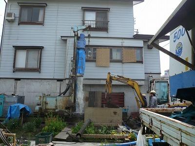 7/25 中魚沼郡津南町でエアー工法の井戸が掘りあがりました_a0084753_16223070.jpg