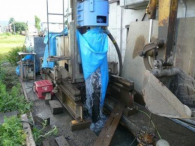 7/25 中魚沼郡津南町でエアー工法の井戸が掘りあがりました_a0084753_16224859.jpg