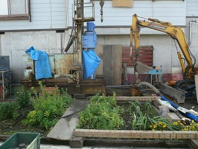 7/25 中魚沼郡津南町でエアー工法の井戸が掘りあがりました_a0084753_16230477.jpg