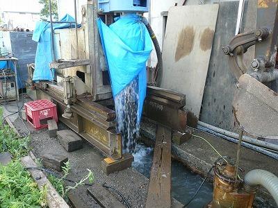 7/25 中魚沼郡津南町でエアー工法の井戸が掘りあがりました_a0084753_16231135.jpg