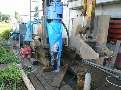 7/25 中魚沼郡津南町でエアー工法の井戸が掘りあがりました_a0084753_16232049.jpg