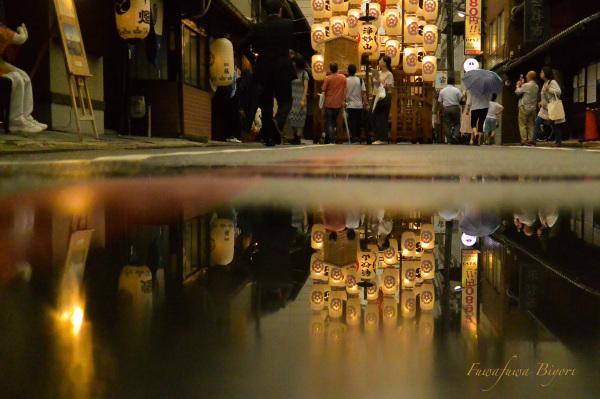 京都祇園祭後祭 映り込み **_d0344864_20311633.jpg