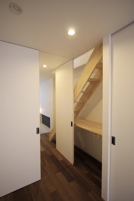 台東区「小島の家」3階 寝室_f0230666_15172654.jpg