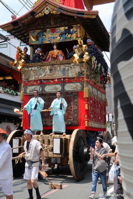 祇園祭 前祭へ_b0055171_10433825.jpg