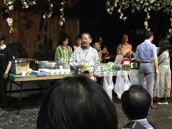 椿組「芙蓉咲く路地のサーガ」 新宿花園神社_a0163788_21433964.jpg