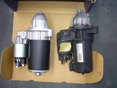メルセデスベンツ W210 エンジン始動できない(スタータモーター交換)_c0267693_14474955.jpg