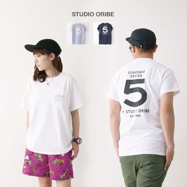 STUDIO ORIBE [スタジオオリベ] ORIBE T-SHIRT [OT01] オリベTシャツ・半袖・コットン・MEN\'S/LADY\'S_f0051306_18184976.jpg
