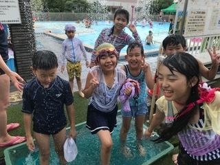 7月24日 『Water play at ARAKAWA SHIZEN park』_c0315913_19390338.jpeg
