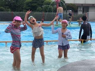 7月24日 『Water play at ARAKAWA SHIZEN park』_c0315913_19390342.jpeg