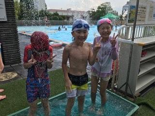 7月24日 『Water play at ARAKAWA SHIZEN park』_c0315913_19390389.jpeg