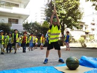 7月26日 「Splitting watermelon」_c0315913_19434055.jpeg