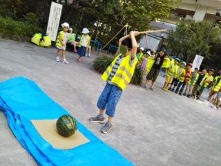 7月26日 「Splitting watermelon」_c0315913_19434077.jpeg