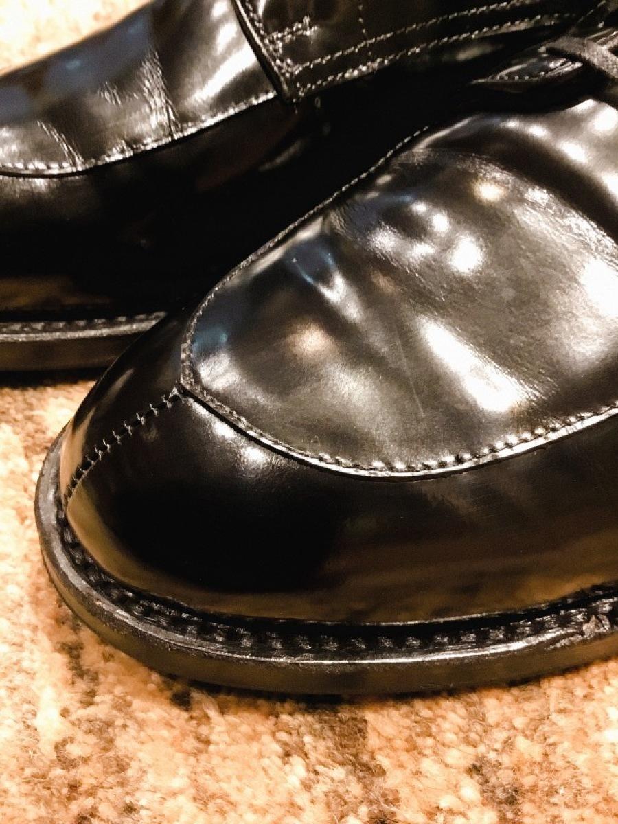 靴磨き FAMACOシルキーレザークリームがいい、、、_f0283816_13363941.jpeg
