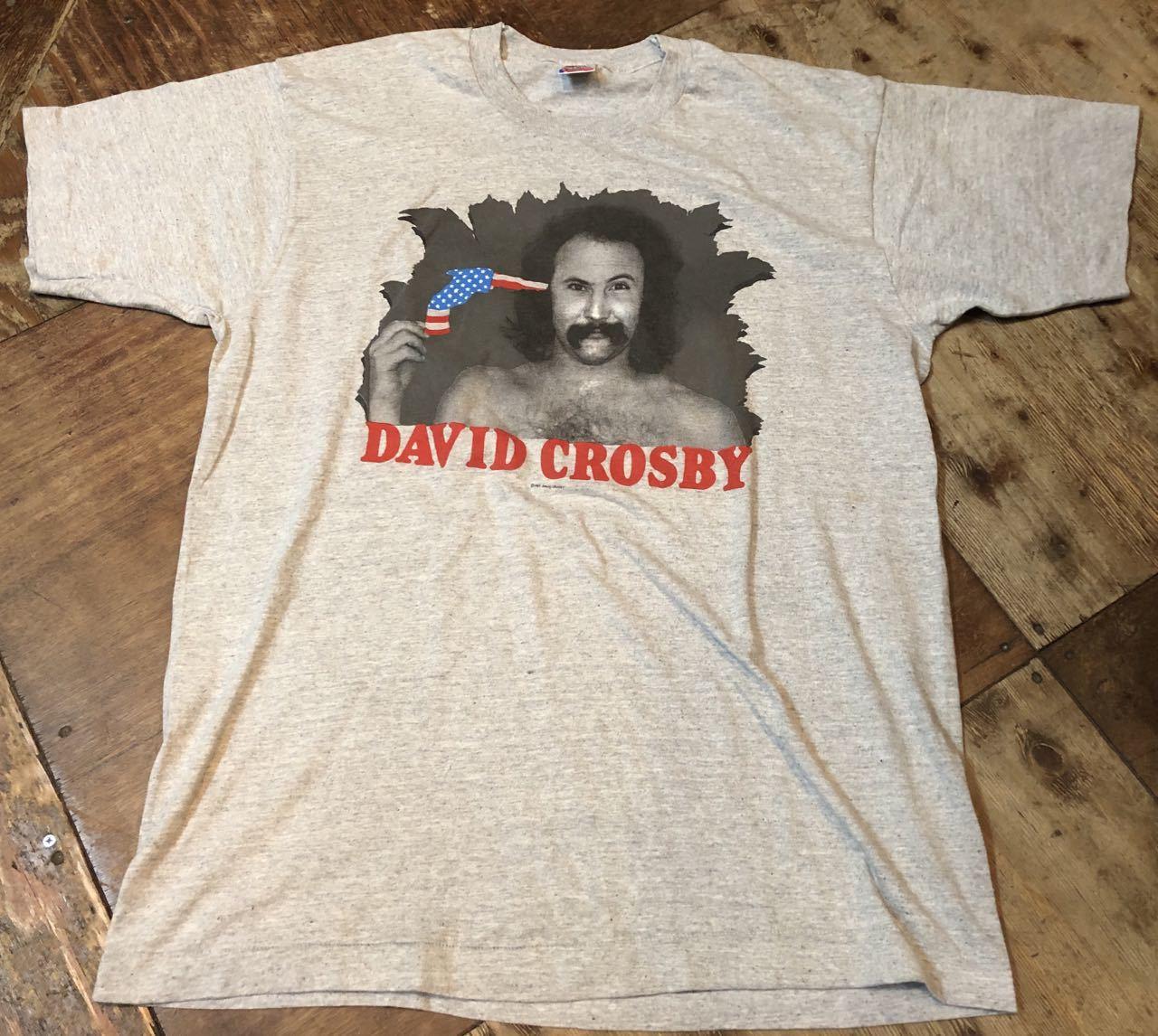 7月26日(土)入荷!MADE IN U.S.A 90s DAVID CROSBY デビッド クロスビー Tシャツ!_c0144020_12440491.jpg
