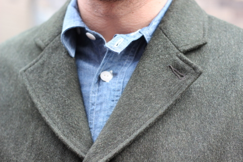 """「WORKERS」一押しのLoden Clothを使用した \""""Lounge Jacket\"""" ご紹介_f0191324_08202179.jpg"""