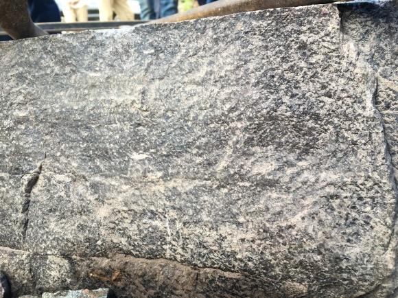第11期2年生 第3回目「石(鉄平石)」_b0186729_16444114.jpg