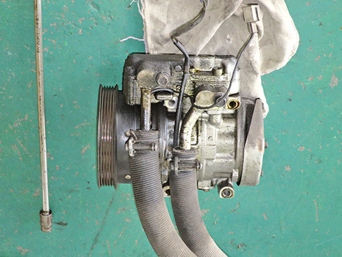 エアコン修理!★AW11 MR2★ レトロフィットでR134ガスに!!_d0156040_17225669.jpg