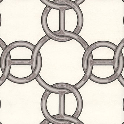 エルメスの壁紙で作るお扇子レッスン_d0078355_09491457.jpg