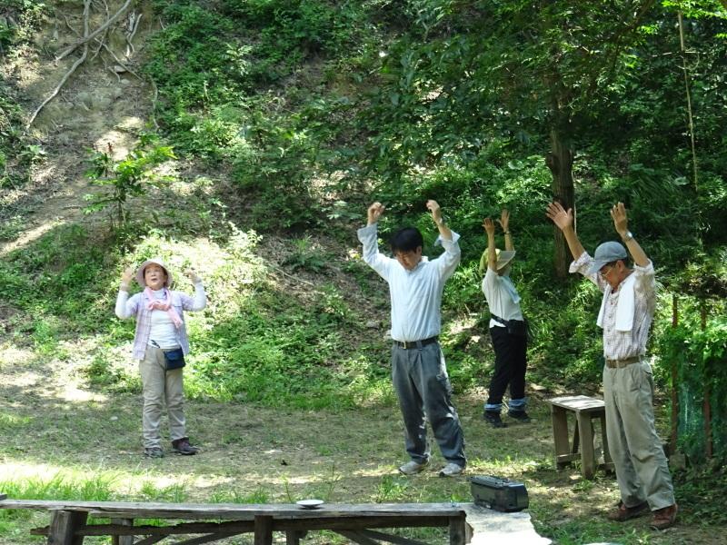 猛暑日は作業にならず・・・孝子の森_c0108460_17572285.jpg