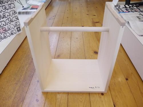 マックス・ビル...バウハウスの概念を象徴するウルムスツール展示開始!_b0125570_10594905.jpg