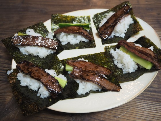 巻き 寿司 肉