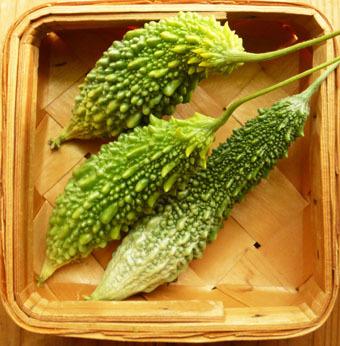 梅雨時にゴーヤをたくさん収穫できました。_c0195909_09235615.jpg