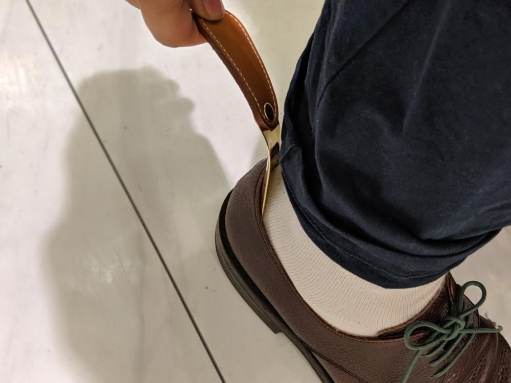 靴べらの必要性_b0226322_13315465.jpg