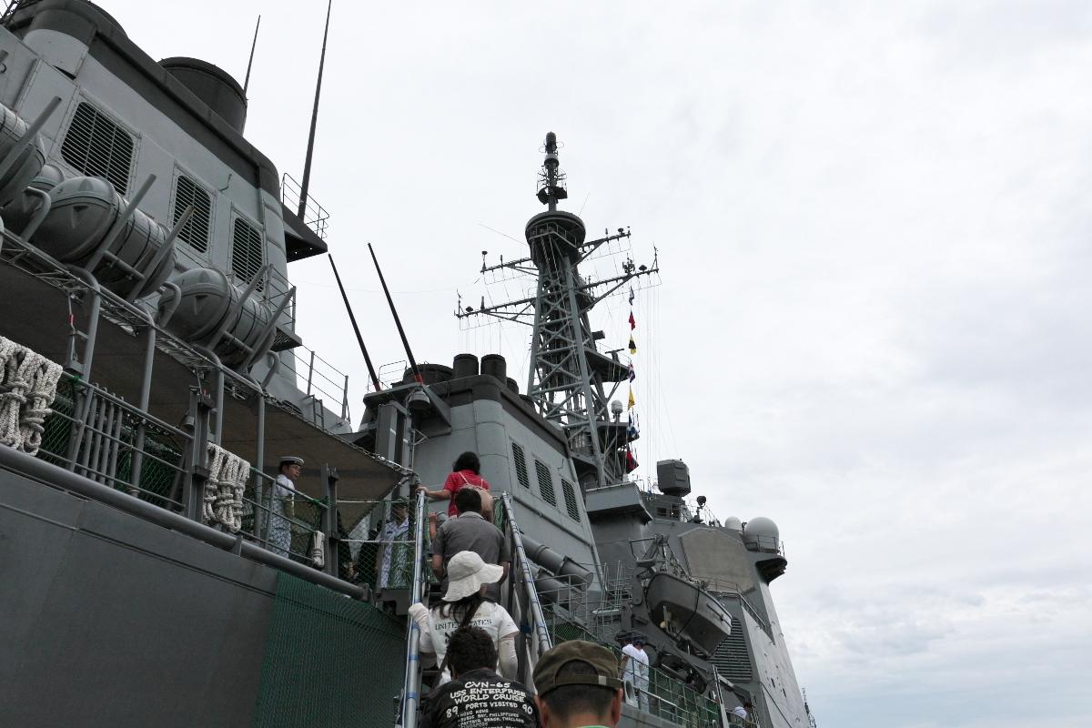 護衛艦「みょうこう」一般公開@新潟東港_d0137627_11304441.jpg