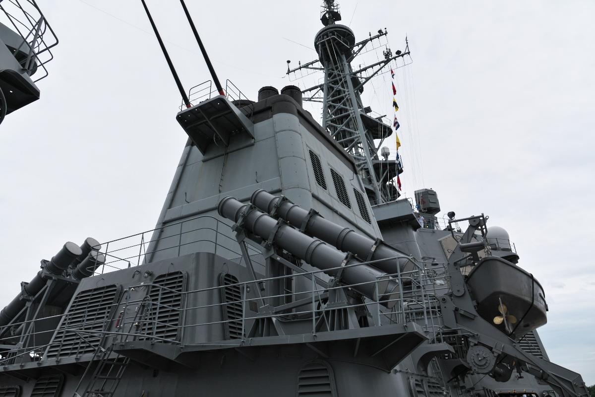 護衛艦「みょうこう」一般公開@新潟東港_d0137627_11320888.jpg