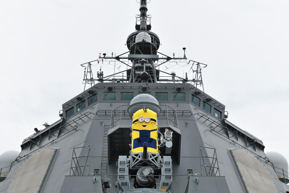 護衛艦「みょうこう」一般公開@新潟東港_d0137627_11431829.jpg