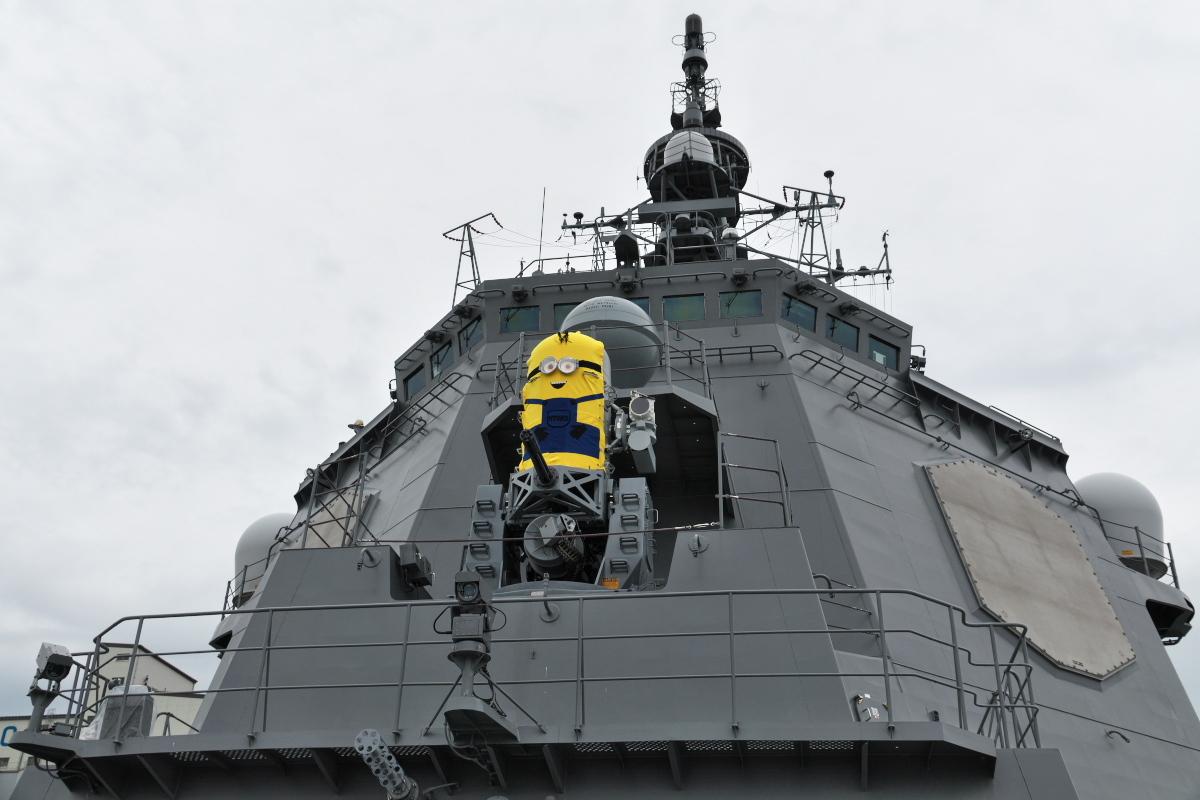 護衛艦「みょうこう」一般公開@新潟東港_d0137627_11523888.jpg