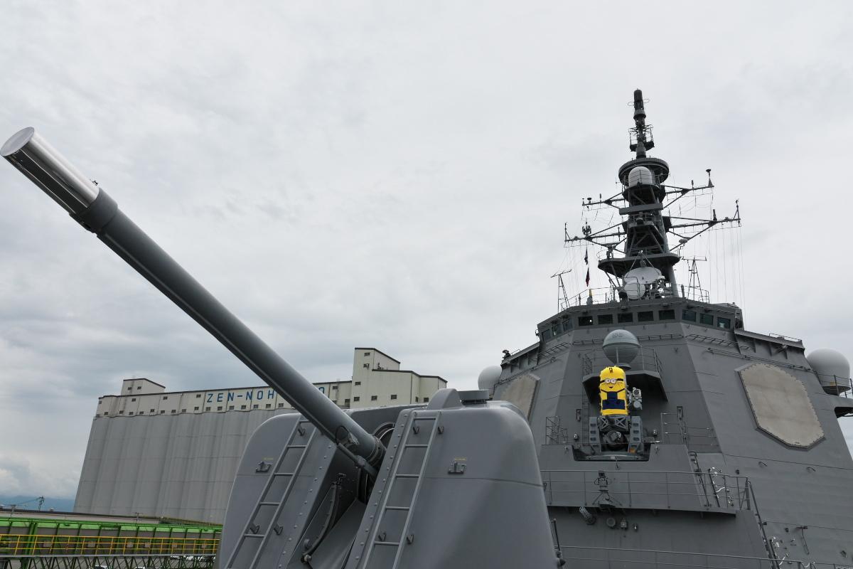 護衛艦「みょうこう」一般公開@新潟東港_d0137627_17232343.jpg