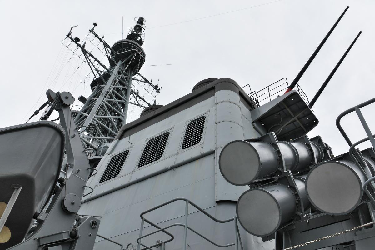 護衛艦「みょうこう」一般公開@新潟東港_d0137627_17350034.jpg