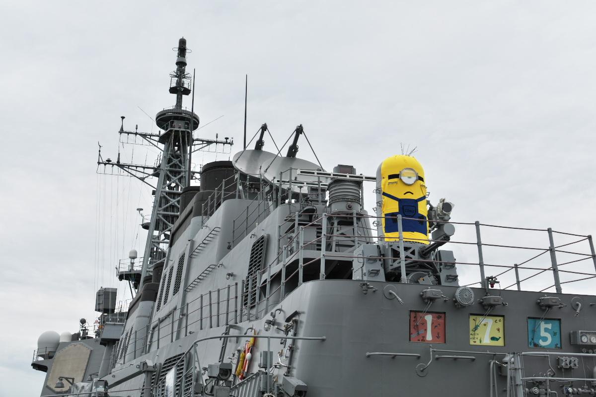 護衛艦「みょうこう」一般公開@新潟東港_d0137627_18103744.jpg