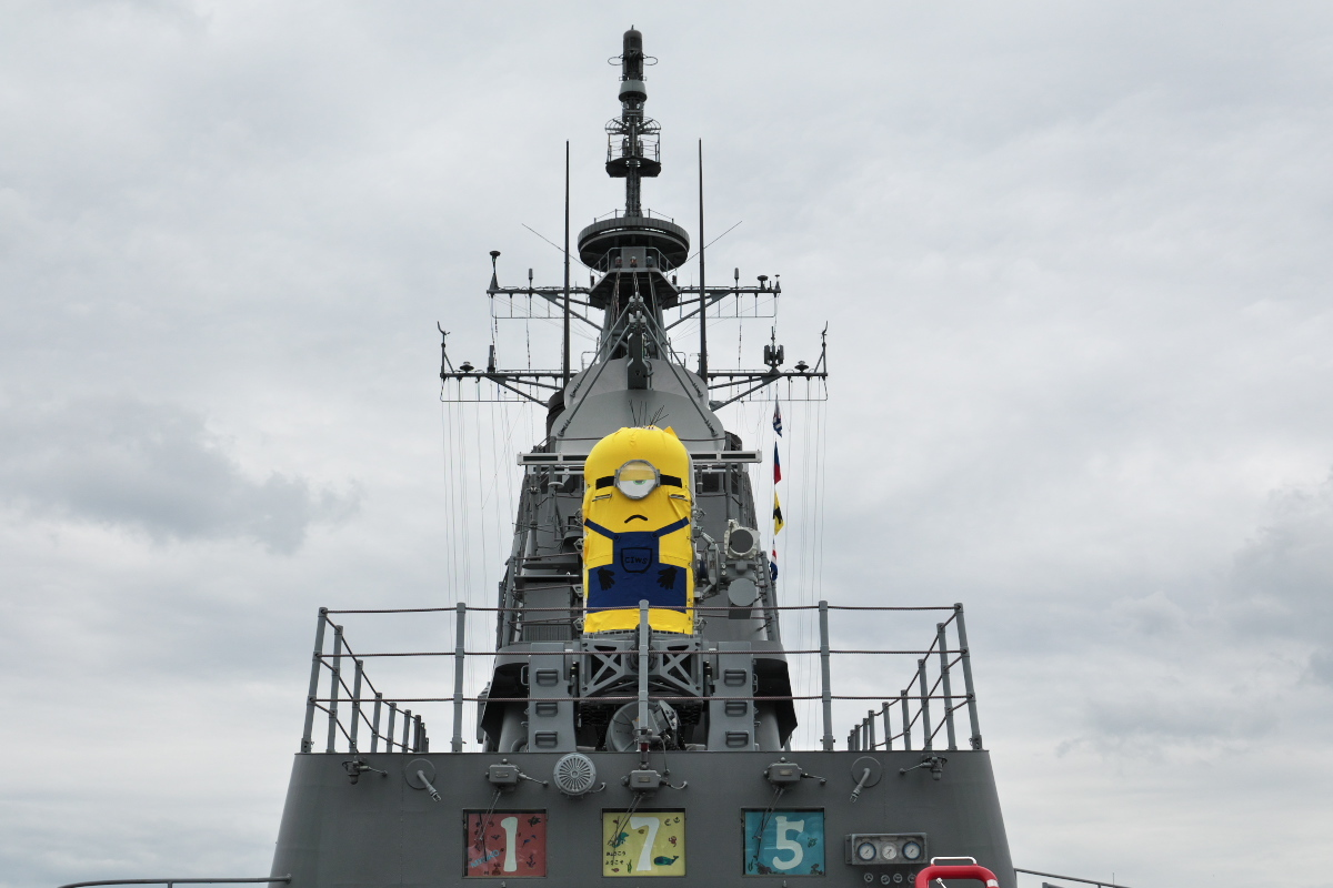 護衛艦「みょうこう」一般公開@新潟東港_d0137627_18130692.jpg