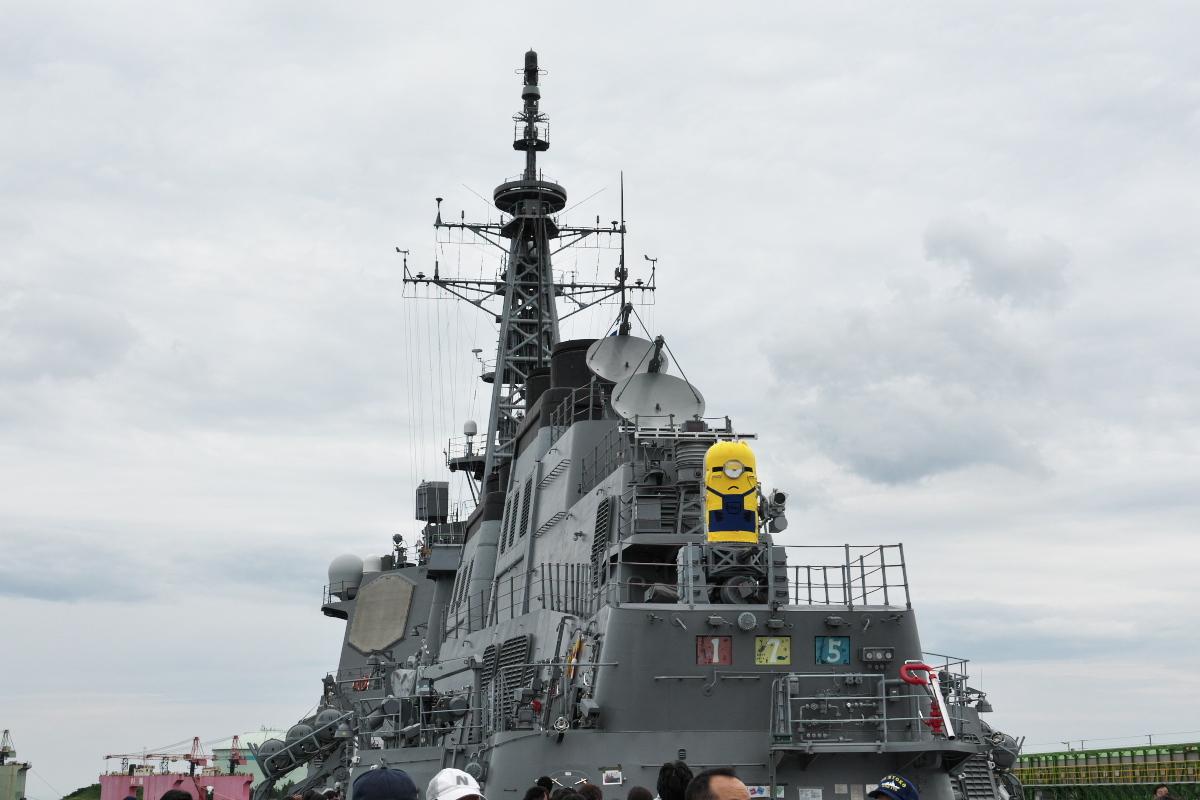 護衛艦「みょうこう」一般公開@新潟東港_d0137627_18183842.jpg