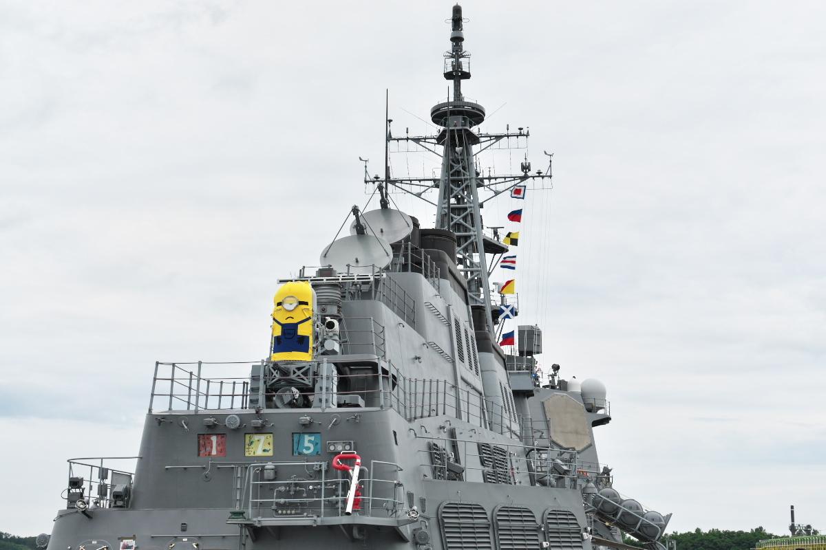 護衛艦「みょうこう」一般公開@新潟東港_d0137627_19484335.jpg