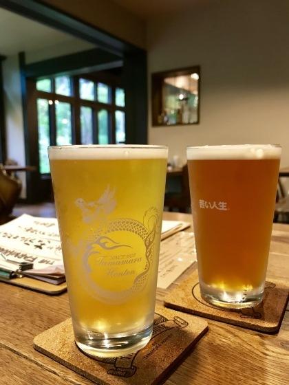 渋温泉 志賀高原ビール タングラム 海鮮丼_b0132338_19174568.jpeg